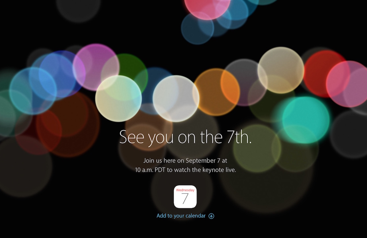 Apple 新製品発表イベント「See you on the 7th.」まとめ